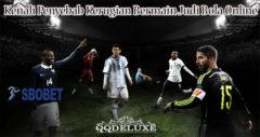 Kenali Penyebab Kerugian Bermain Judi Bola Online